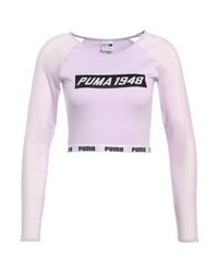 Puma Long Sleeved Top Orchid Bloom
