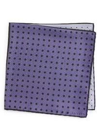 Dot silk pocket square medium 1150239