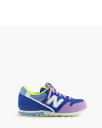 New Balance Kids For Crewcuts 996 Lace Up Sneakers With Glow In The Dark Soles