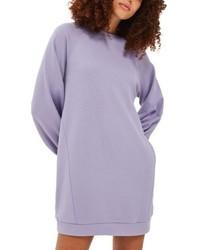 Light Violet Sweater Dress