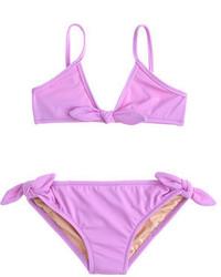 J.Crew Girls Bow Bikini Set