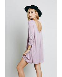 Light Violet Swing Dress