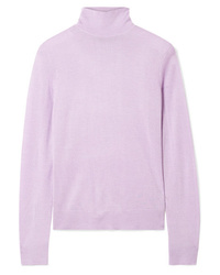Theory Foundation Silk Blend Turtleneck Sweater