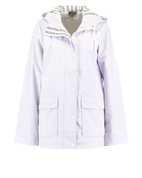 Topshop Maisie Waterproof Jacket Lilac