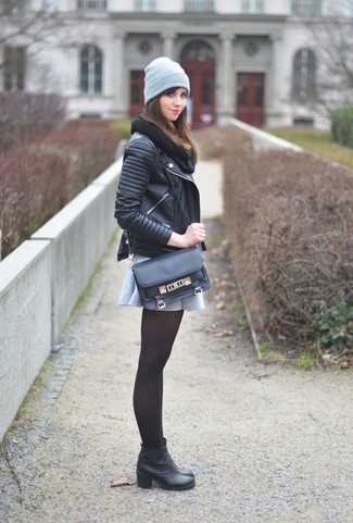 Chain Toe Ankle Boots