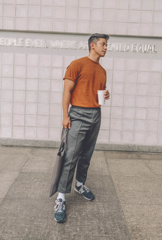 Double Loop Wool Blend Trousers