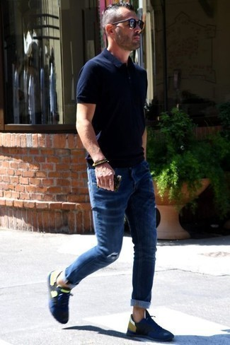 Wear Running Shoes With Jeans