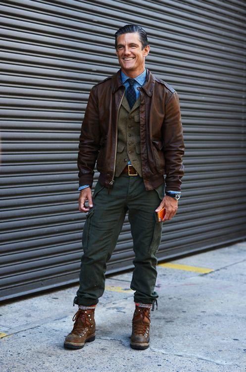 How to Wear Dark Green Cargo Pants (37 looks)   Men's Fashion