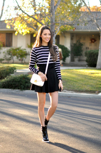 Horizontal Strip Sweater