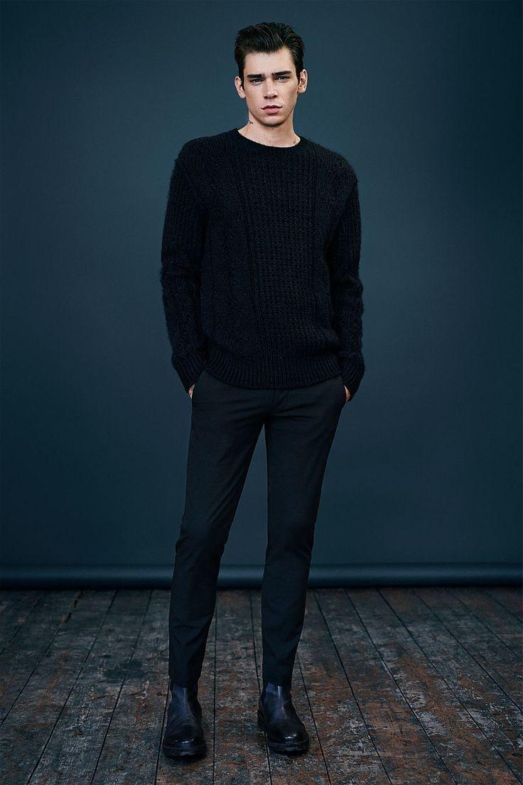 Mens Fashion Black Pants