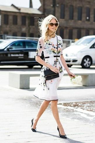 Lesley Zebra Appliqu Leather Pumps