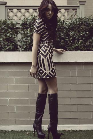 Cervova Under The Knee Boots