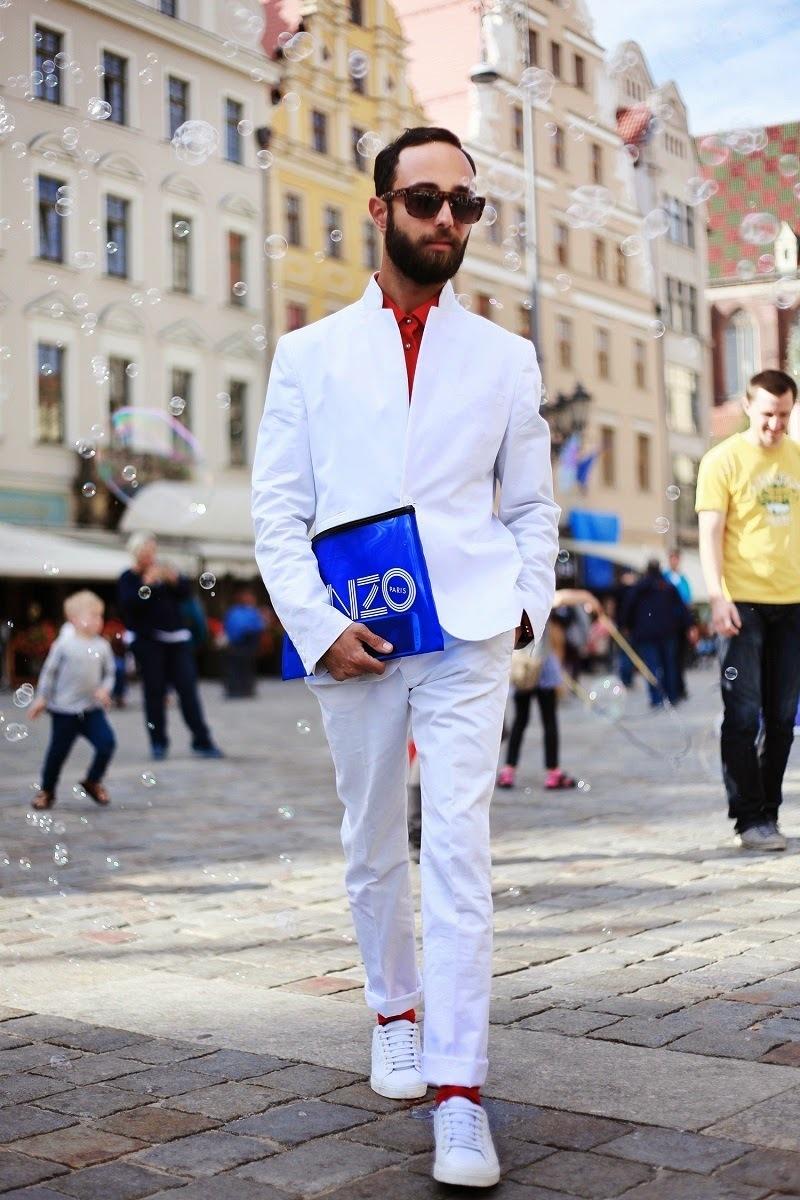 How to Wear a White Blazer (74 looks) | Men's Fashion
