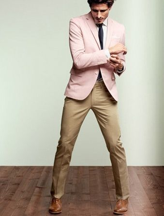 How to Wear a Pink Blazer (28 looks) | Men's Fashion
