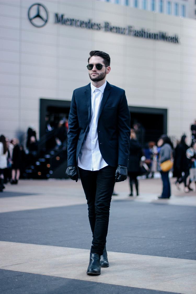 Black Leather Chelsea Boots | Men's Fashion