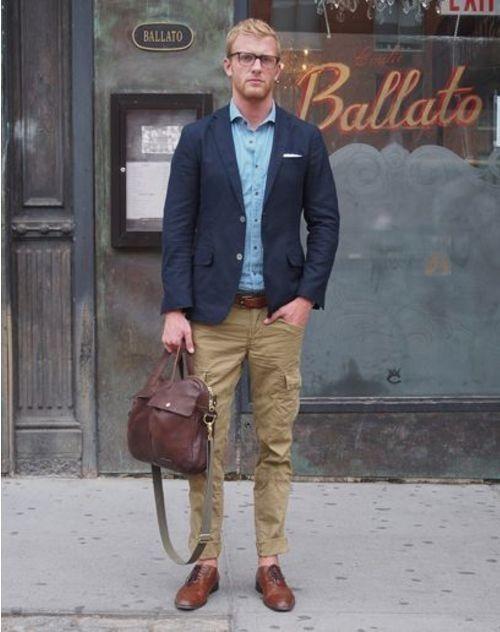 How to Wear Khaki Cargo Pants (18 looks) | Men's Fashion