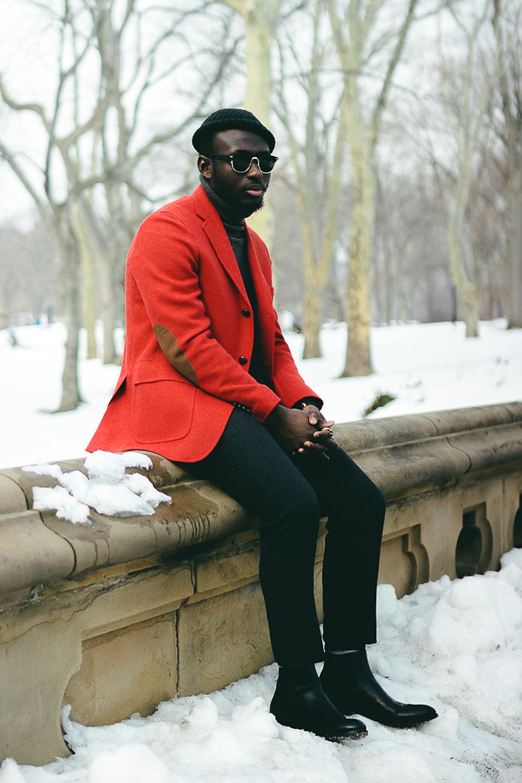 Red Blazer   Men's Fashion