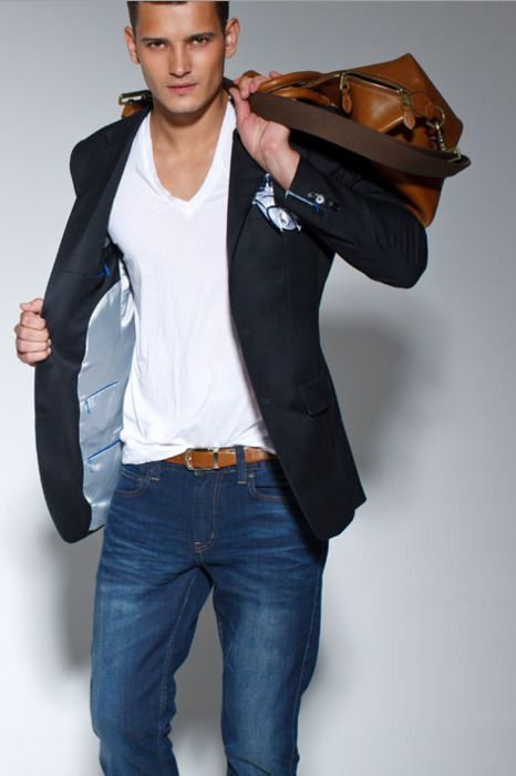 How To Wear Jeans With a Black Blazer   Men&39s Fashion