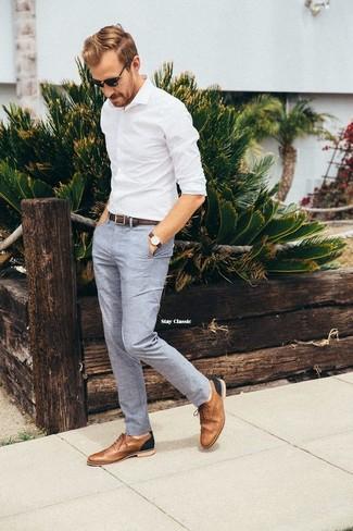 Shore Leather Brogue Shoes