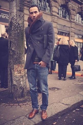Slim Smart Belt In Brown Faux Leather