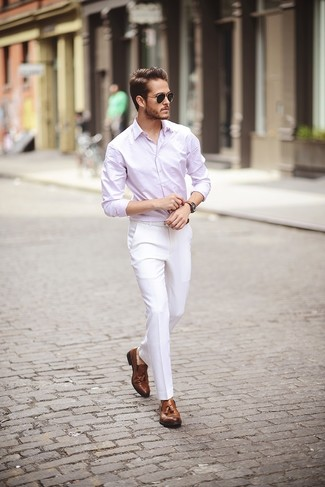 Rounded Collar Shirt