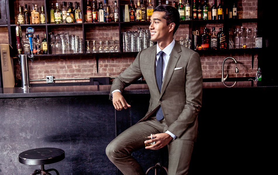 Which Dress Shirt To Wear With a Brown Suit | Men's Fashion