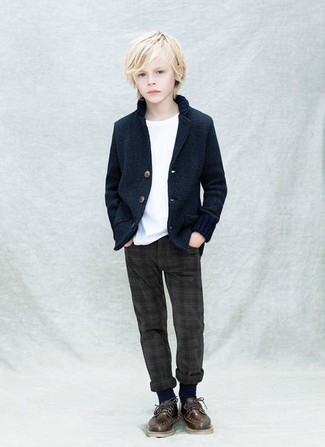 Kids Two Button Blazer