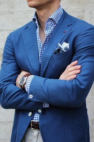 Bright Paisley Pocket Square
