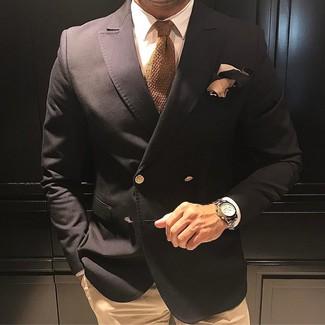 Comme Des Garons Homme Plus Asymmetric Double Breasted Blazer