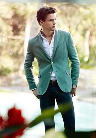 Solid Linen Sport Coat