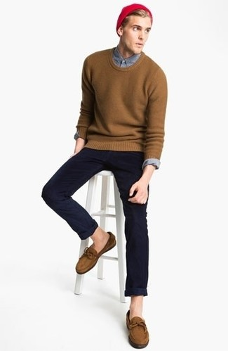 Trousers In Navy With