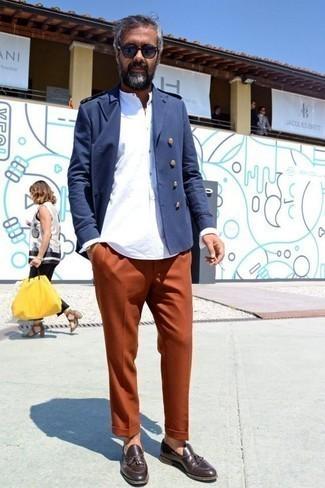 Slim Fit Linen Dress Trouser