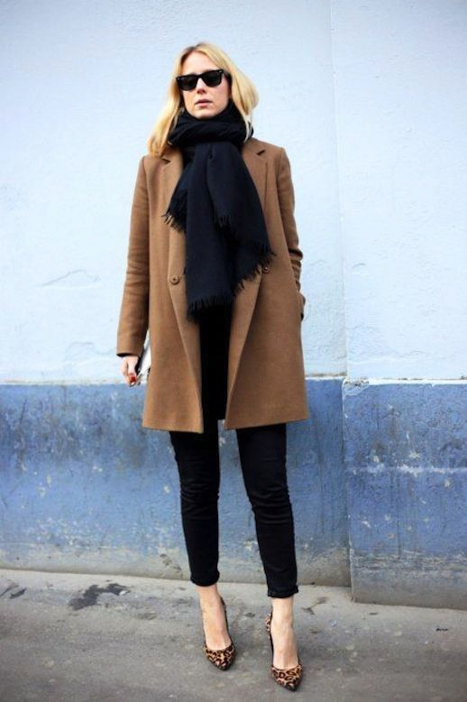What To Wear With A Brown Coat - Coat Nj