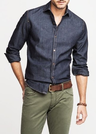 Chambray Sloan Sport Shirt