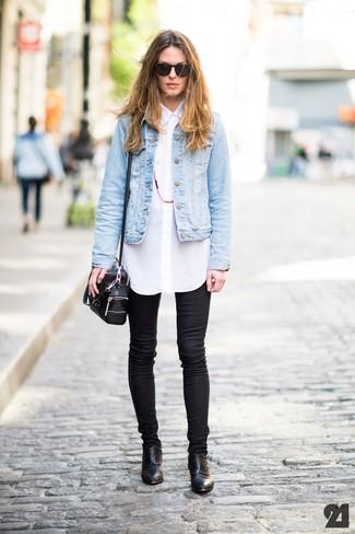 Blue Jean Jacket Style - JacketIn