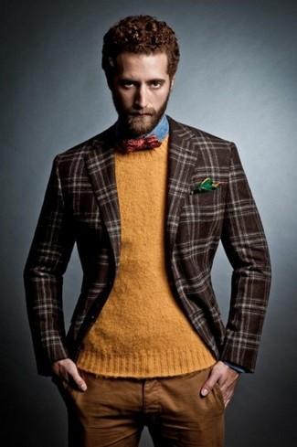 Flynn Classic Fit Plaid Wool Sport Coat