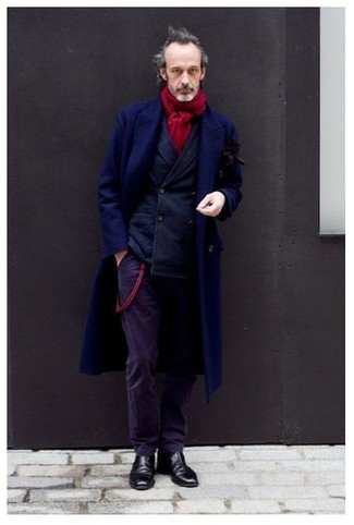 Front Zipped Overall Coat