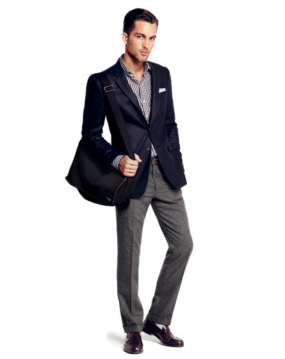 How To Wear A Navy Blazer With Grey Pants For Men 154 Looks