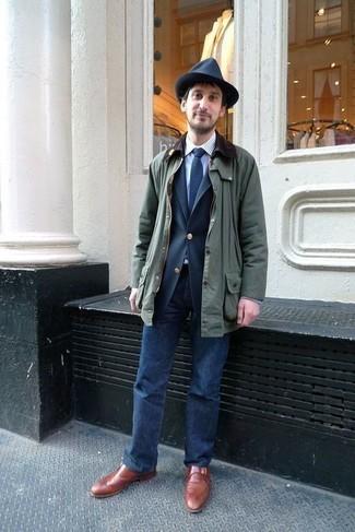 Striped Slim Fit Oxford