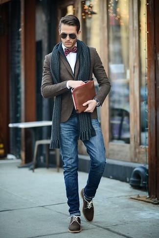 Wool Blazer Cardigan