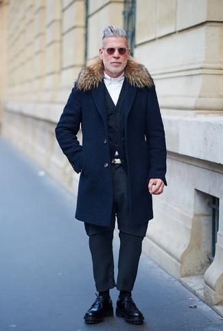 Comme Des Garons Homme Plus Creepers Lace Up Shoes
