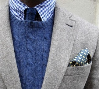 Narrow Knit Silk Tie