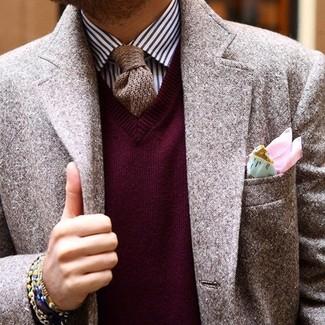 Cashmere Knit Tie