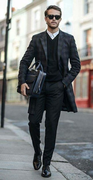 Plus Super Skinny Fit Suit Trousers In Black