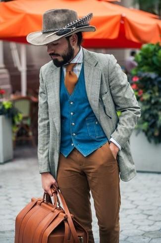 Narrow Brim Hat