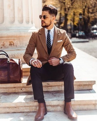 How To Wear Brown Leather Chelsea Boots
