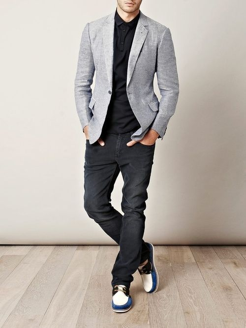 Which Skinny Jeans To Wear With A Grey Blazer 38 Looks Outfits