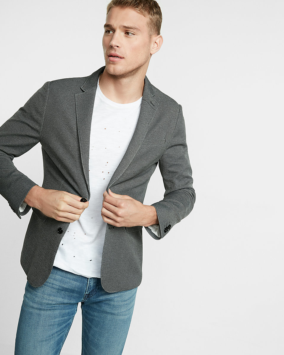 Images of Mens Grey Blazer With Jeans - Best Fashion Trends and Models