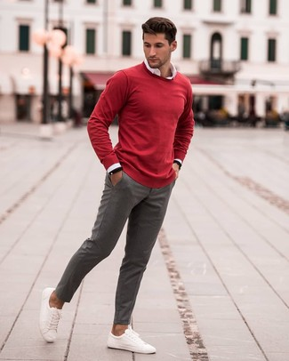 Cotton Linen Roll Neck Sweater