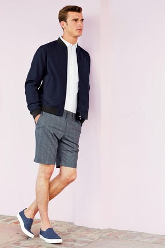 1142ebb22688 How to Wear Plaid Shorts For Men (8 looks   outfits)